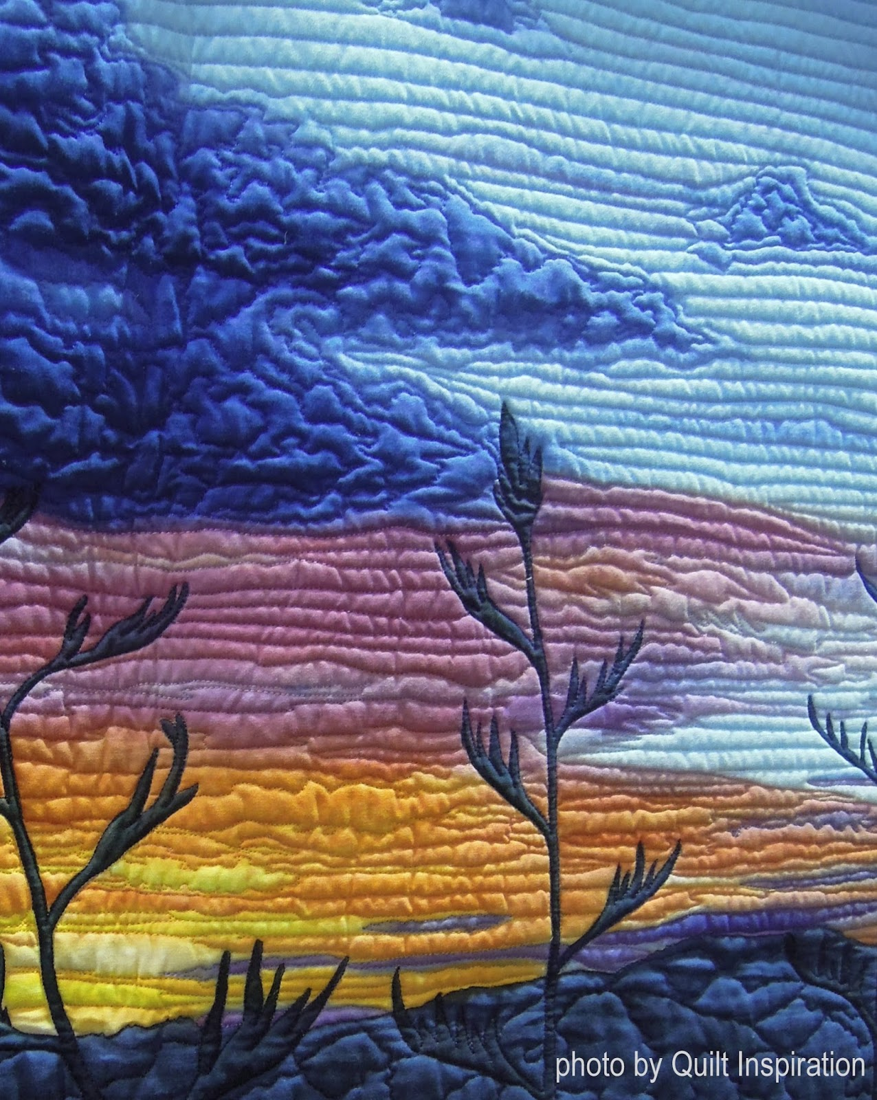 Quilt Inspiration: Quilts of the World part 4: New Zealand