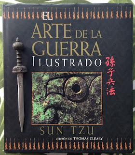 Portada del libro El arte de la guerra, de Sun Tzu
