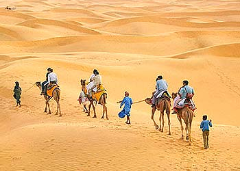 Sam-Sand-Dunes-Jaisalmer- Rajasthan-Attractions