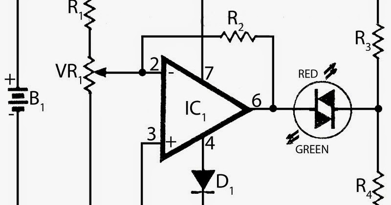 supply voltage monitor circuit diagram