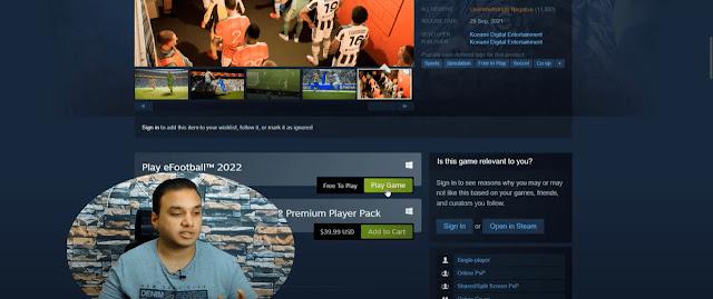 تحميل لعبة بيس 2022 للكمبيوتر