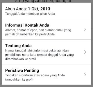 Cara mengetahui tahun pembuatan Akun Facebook Mudah - Karolus Ivan Purwoko