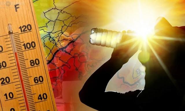 """""""΄Εβρασε"""" στο Άργος στους 44 βαθμούς - Οι υψηλότερες θερμοκρασίες στην Αργολίδα και την Ελλάδα"""