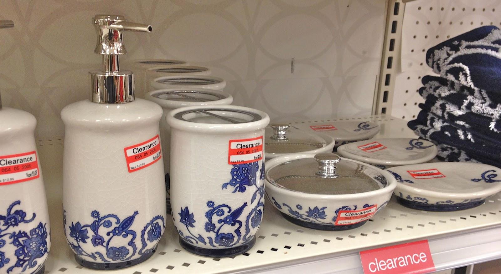 Bath Décor Clearance At Target!