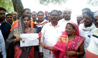 #JaunpurLive : क्षेत्र पंचायत रेहटी से प्रेमशिला हुई विजयी