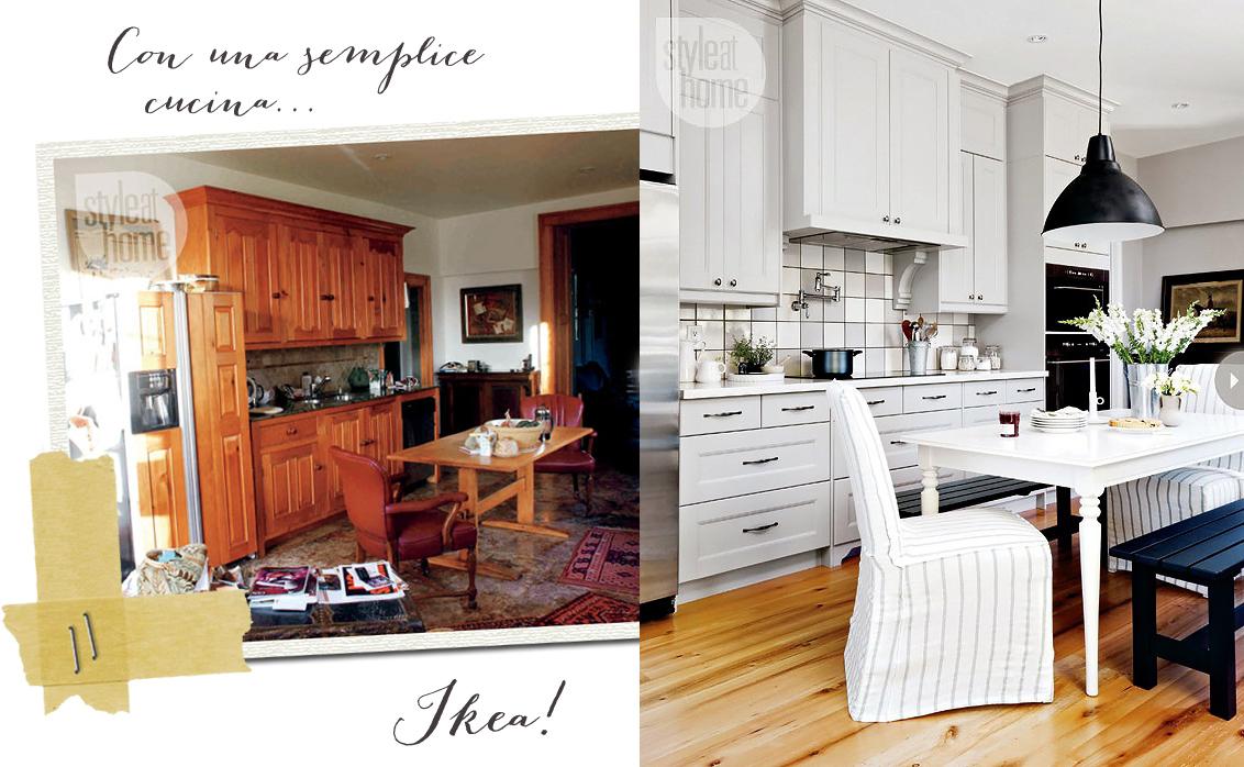 Cucina A Scomparsa In Stile Country Chic By Ikea   Ikea Carugate Cucine