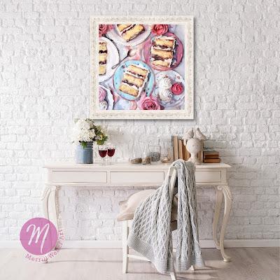sweets-for-sweet-cake-oil-painting-merrill-weber