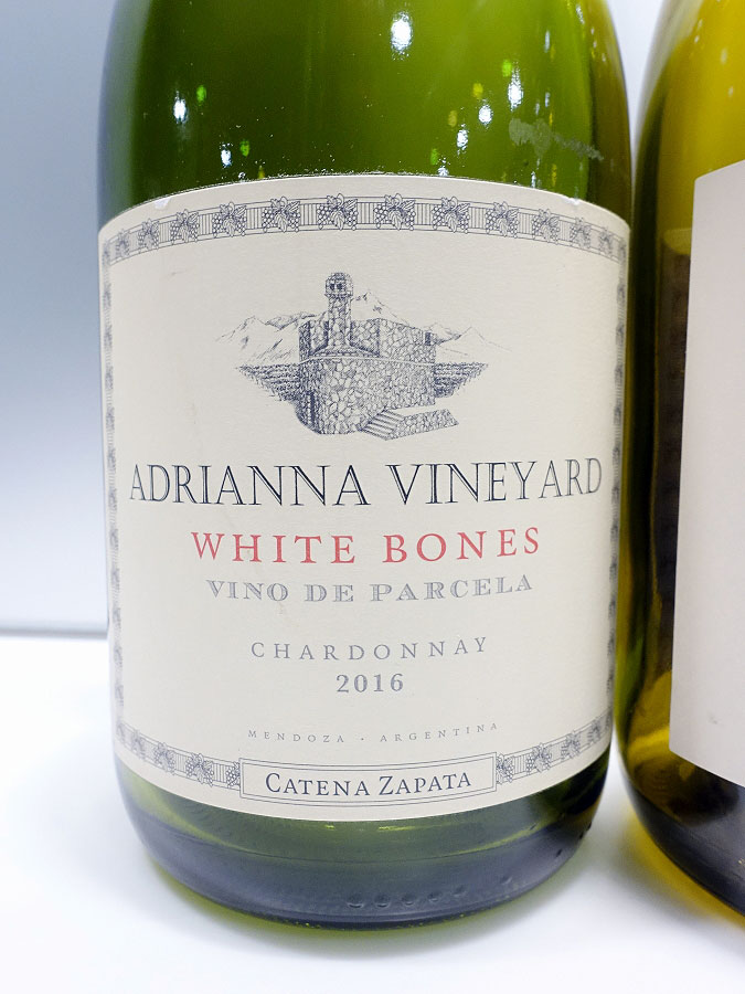 Catena Zapata White Bones Adrianna Vineyard Chardonnay 2016 (93 pts)