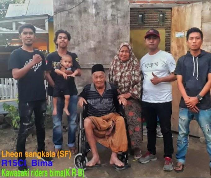 Kakek Lumpuh Di Rabakodo Kini Dapat Kursi Roda Dari Hamba Allah