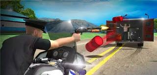 تحميل لعبة Police vs Thief Moto Attack تمتاز بجودة الجرافيك العالية كاملة للاندرويد