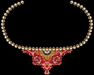 Jwellery neck design