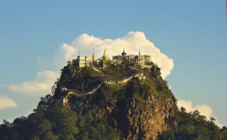 Taung Kalat; Mount Popa, Myanmar