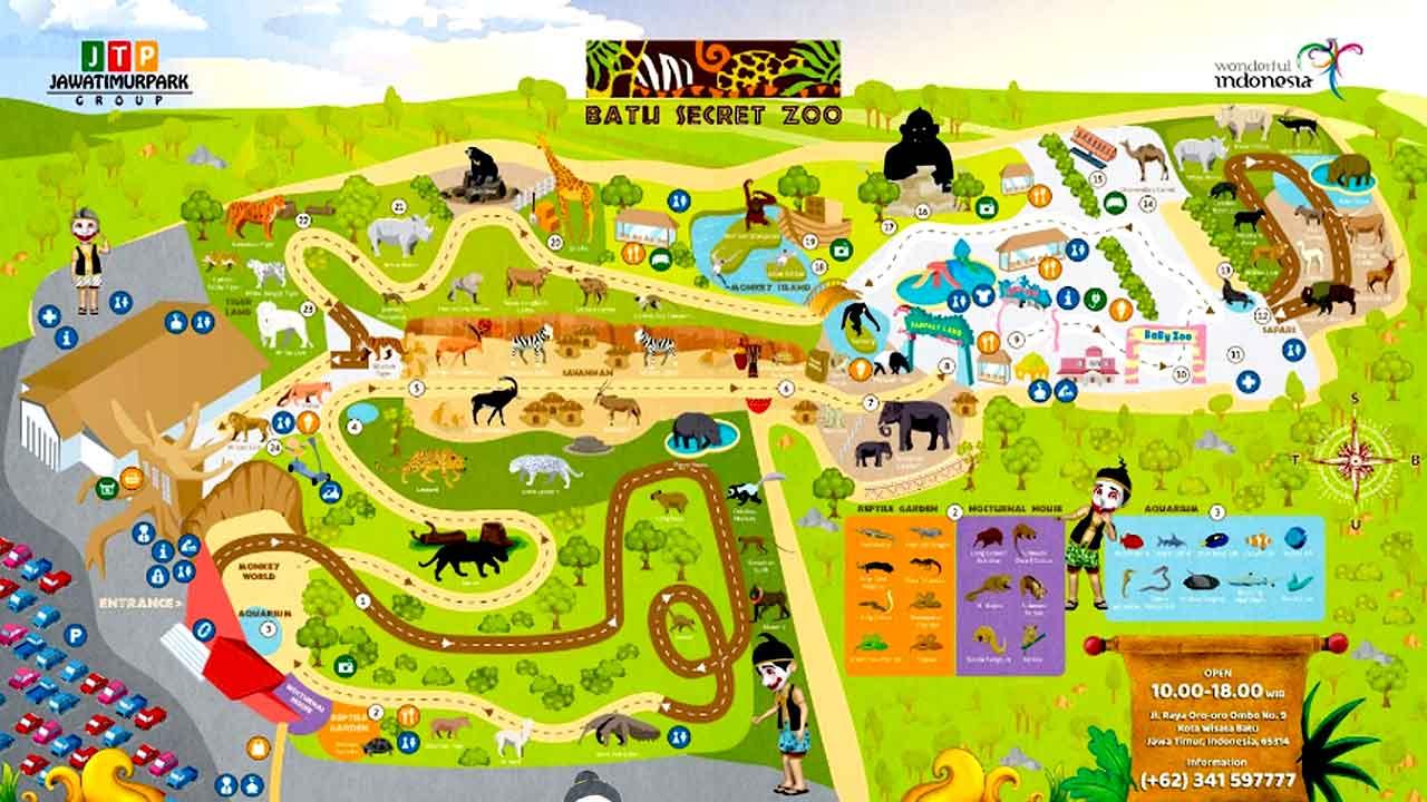 4 Zona Jatim Park 2 Yang Layak Untuk Dikunjungi