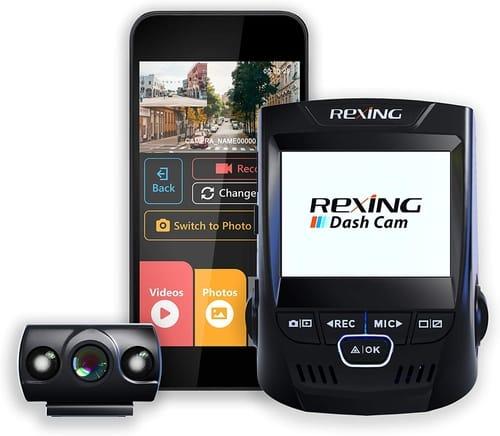 Review Rexing V1P LCD FHD Wi-Fi Car Dash Cam