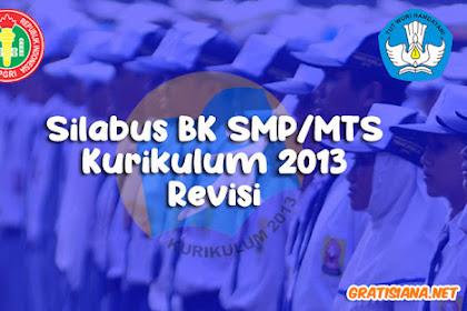 Silabus BK SMP/MTS Kurikulum 2013 Revisi 2017, 2018, 2019
