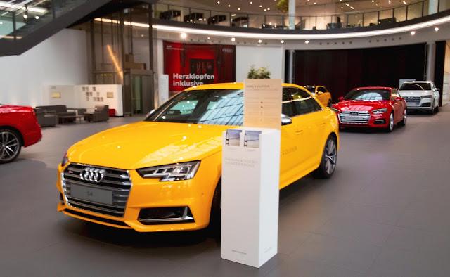 Audi S4, Neckarsulm, fabryka
