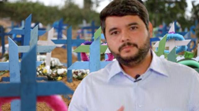 Mortes diárias por covid em Itapetinga assusta e aniquila agenda do prefeito Hagge