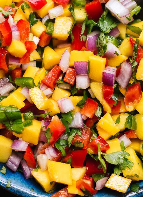 Fresh Mango Salsa #recipes #dinner ideas #dinnerideasfortonight #food #foodporn #healthy #yummy #instafood #foodie #delicious #dinner #breakfast #dessert #lunch #vegan #cake #eatclean #homemade #diet #healthyfood #cleaneating #foodstagram