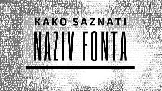 Besplatni fontovi, kako ih pronaći i gde ih možete preuzeti