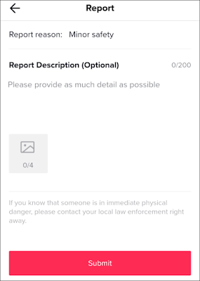 How to Report Comments, Videos and Account on TikTok