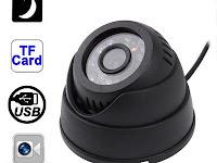 Cara memakai dan set tanggal CCTV DN-B01 hemisphere card camcorder cameras
