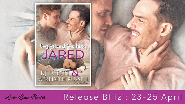 Jared by RJ Scott & Meredith Russell Release Blitz