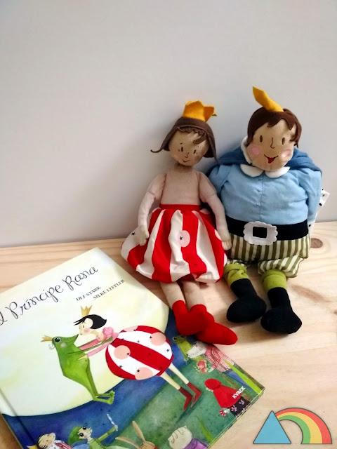Títeres del libro El príncipe Rana de Ikea