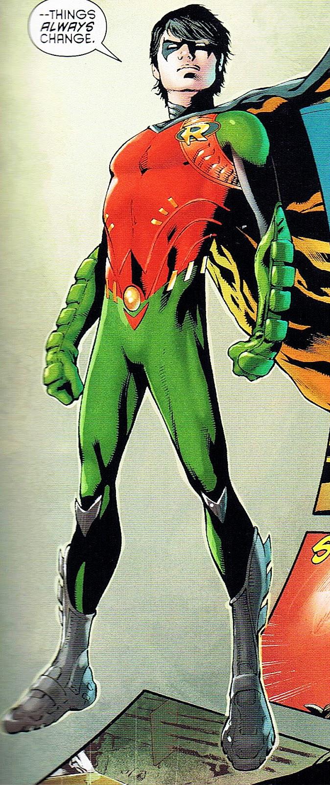 Dick Grayson Robin New 52