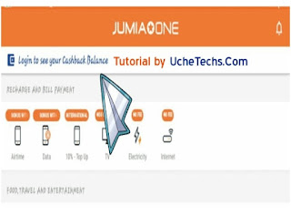 Jumia One App Check Balance
