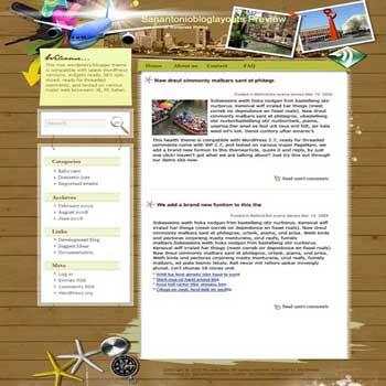 Celebrations for All blogger template. converted WordPress to Blogger template. template love for blog