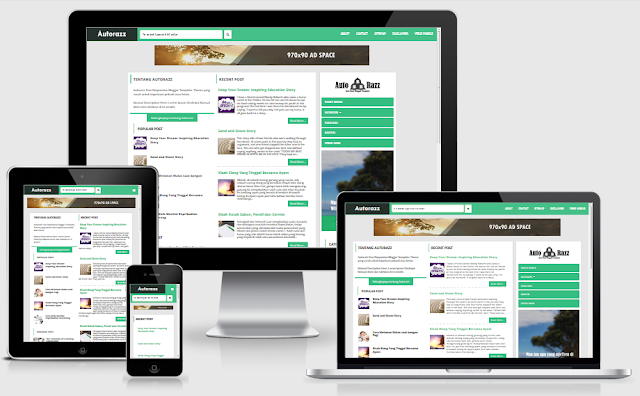 Download Template Auto Razz SEO, Responsive Blogger & Mobile Friendly