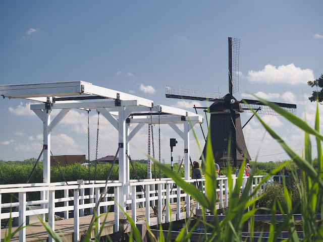 Die Windmühlen von Kinderdijk