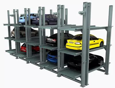 Hệ thống bãi đỗ xe ô tô nhiều tầng
