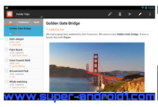 تحميل تطبيق بلوجر Blogger لعشاق التدوين والمدونات مجانا للاندرويد، تحميل تطبيق بلوجر Blogger ، Blogge، تحميل تطبيق بلوجر،  تحميل،  تطبيق،  تدوين،   مدونات،  للاندرويد،  مجانا،