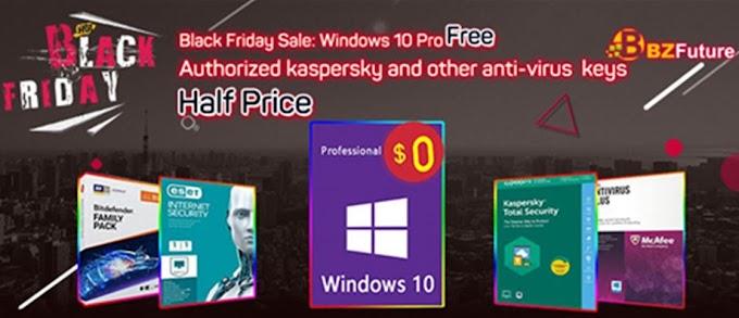 احصل على Windows 10 Pro مجانا فى بلاك فرايداى BZFuture