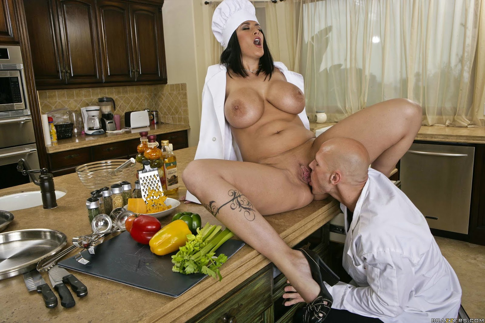 Chef madison ivy get fucked in her kitchen porn pic