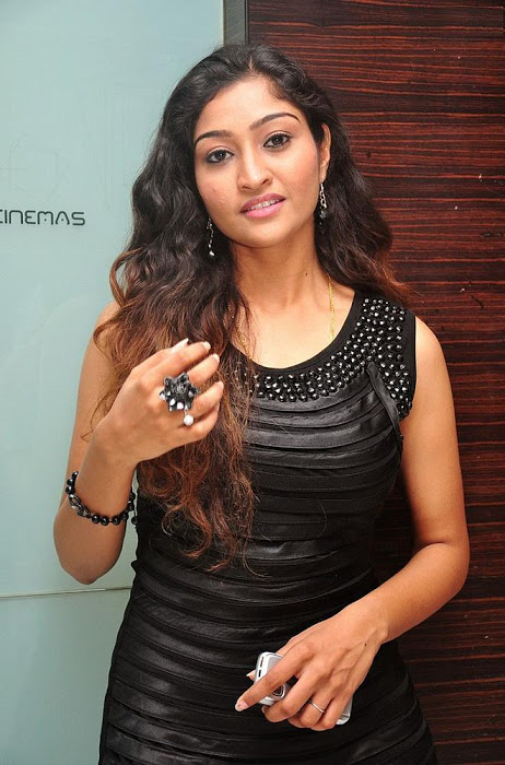 Tv Actress Neelima Rani Long Hair Stills In Black Dress