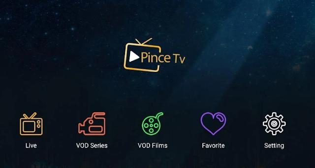 تحميل تطبيق Pince Player الجديد لتشغيل جميع قنوات العالم علي الهاتف