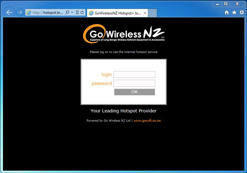 Go Wireless NZ Blog: MikroTik Hotspot Part 2 - Hotspot