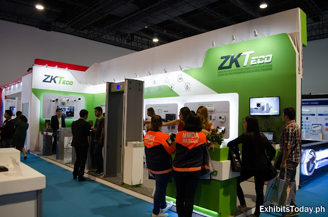 ZKTeco Exhibition Booth