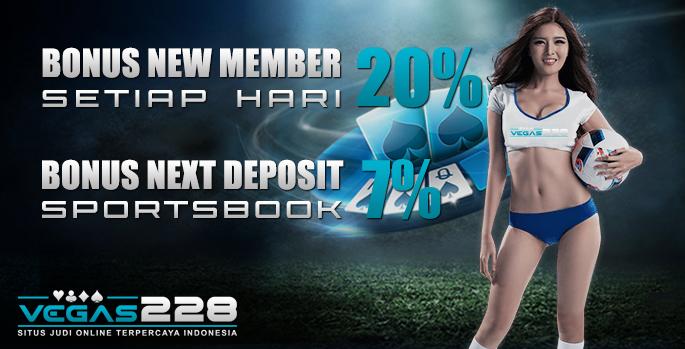 Bonus New Member Vegas228