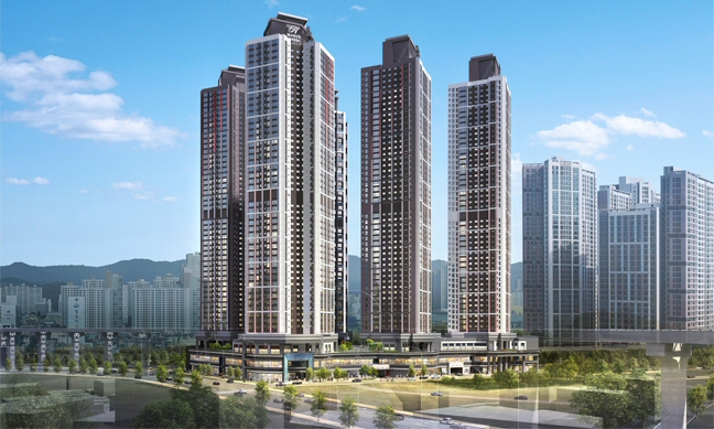 현대건설, 대구시 도원동 주거복합단지 '힐스테이트 도원 센트럴' 3월 분양
