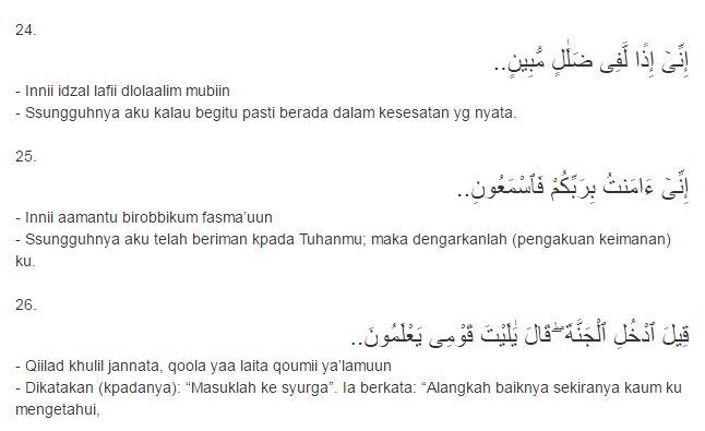 Surat Yasin Mp3 Bacaan Surat Yasin Lengkap Dengan Bahasa Arab