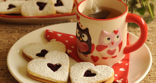 Galletitas con corazón dulce