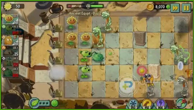 جرافيك لعبة الزومبي 2