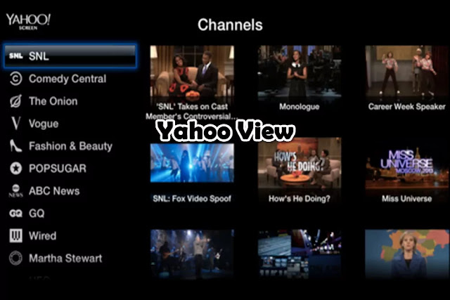 Yahoo View : Watch TV Online Free Streaming
