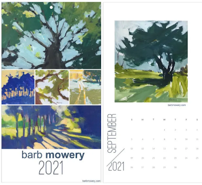 2021 Trees Calendar