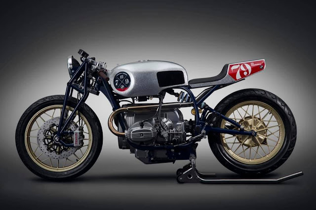 BMW R80 By Mandrill Garage Hell Kustom