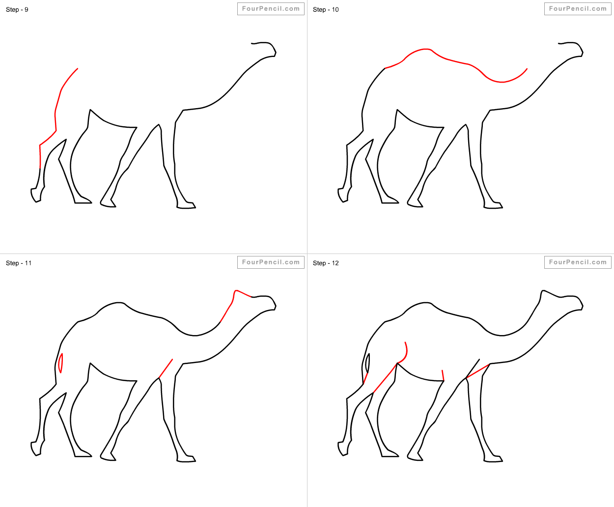 It's just a photo of Gratifying Simple Camel Drawing