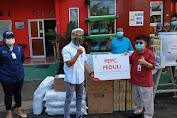 Masa Pandemi, Manajemen Dan Pekerja PEPC Beri Donasi